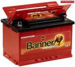 BANNER UNI BULL 12V 58Ah akkumulátor 50200 4 saru Bal+/Jobb+