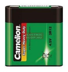 Camelion Super Heavy Duty 4,5V elem 3R12 (lapos elem)