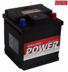 Electric Power 12V 40Ah Jobb+ Fiat Punto akkumulátor (Kocka)