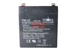 12V 5Ah zselés akkumulátor