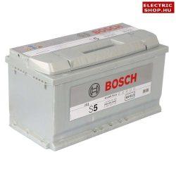 Bosch S5 12V 100Ah Jobb+ akkumulátor