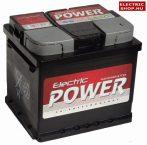 Electric Power 12V 50Ah Jobb+ akkumulátor