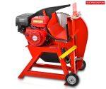 HECHT 890 Benzinmotoros körfűrész  billenő vályús benzinmotoros tűzifa hasogató körfűrész