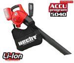 Hecht 9440 akkus lombszívó akkumulátoros lombszívó
