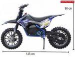 HECHT 54502 - GYERMEK MOTOR , akkumulátoros gyermek motor, mini cross motor