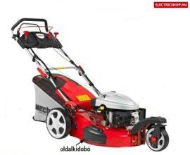HECHT 5543 SXE 5in1 Benzinmotoros fűnyíró önjáró három kerekű trike elektromos önindítós indítással