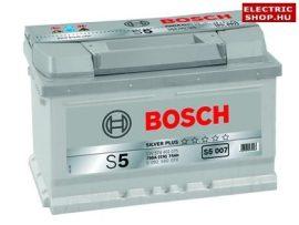 Bosch S5 Silver 12V 74Ah 750A Jobb+ akkumulátor