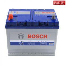 Bosch S4 12V 70Ah Bal+ akkumulátor Japán 0092S40270