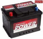 Electric Power 12V 55Ah Bal+ akkumulátor