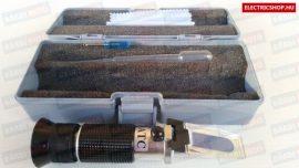Fagyálló fokoló optikai refraktométer (akkumulátor sav mérő)