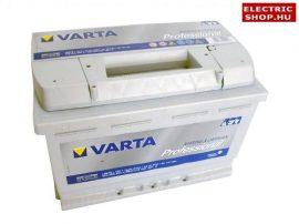 Varta Professional DC 12V 75Ah Jobb+ akkumulátor 930075 lakóautó hajó motorcsónak