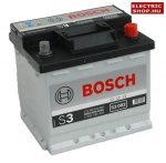 Bosch S3 12V 45Ah Jobb+ akkumulátor