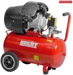 Hecht 2355 olajkenésű légkompresszor v2, kéthengeres 2,2 kw/3 hp