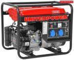 Hecht GG 3300 benzines áramfejlesztő benzinmotoros aggregátor