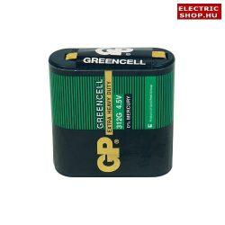GP Greencell 4,5V elem 3R12 (lapos elem) féltartós