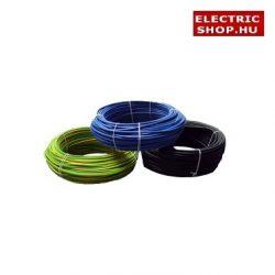 MCU 1x1,5 mm2 H07V-U vezeték (kábel) (fekete,kék,zöld-sárga)