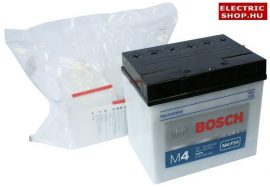 Bosch M4 12V 30Ah akkumulátor savas J+ (fűnyírótraktor) 53030