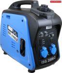 Güde 40720 inverteres áramfejlesztő ISG 2000-2 , [ 220 V és 12 kim V enetekkel ]