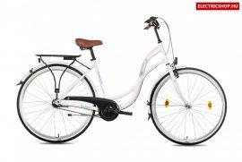 Csepel 28 Velence 28/19 N3 17 agyváltós városi kerékpár Ajándékkal