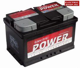 Electric Power 12V 72Ah Jobb+ akkumulátor
