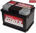 Electric Power 12V 55Ah Jobb+ akkumulátor
