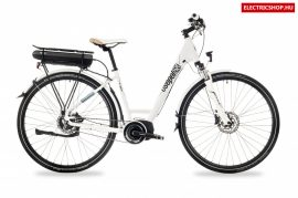 Csepel E-GEAR 28/18 UNI ALFINE E-8 FEHÉR elektromos kerékpár