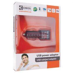 Szivargyújtós USB tápforrás (inverter) autóba 12V/5V 4,2A