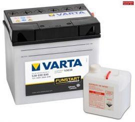 Varta Funstart 12V 30Ah akkumulátor savas J+ (fűnyírótraktor) 53030
