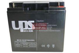 12V 18Ah zselés zárt gondozásmentes szünetmentes VRLA akkumulátor