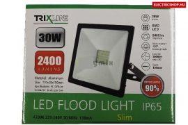 LED fényvető 30W IP65 4200K fekete