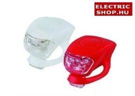 Szilikonos kerékpár lámpa LED (bicikli lámpa)