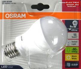 Osram E27 7W LED izzó (40W) EXTRA Akció