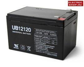 Elektromos kerékpár akkumulátor 12V 12Ah zselés gondozásmentes VRLA