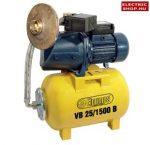 ELPUMPS VB 25/1500B Házi vízellátó 1500W (házi vízmű) (magyar) (bronz lapát) + lábszelep