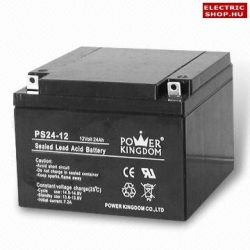 12V 24Ah zselés akkumulátor