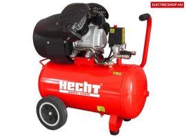 Hecht 2353 olajos kompresszor V2 kéthengeres kompresszor dupla dugattyús direkt meghajtású