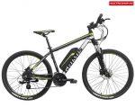 HECHT GRIMIS SILVER elektromos kerékpár , akkus bicikli, akkumulátoros kerékpár ezüst színben