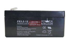 12V 3,2Ah zselés akkumulátor