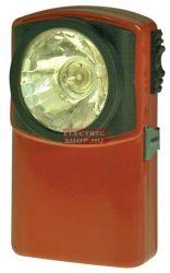Klasszikus fém lapos lámpa