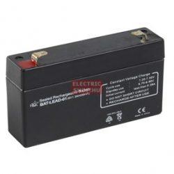 6V 1,2Ah zselés akkumulátor