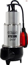 ELPUMPS BTSZ 600 special szabad átömlésű szennyvíz szivattyú (Merülő szivattyú) 1600W