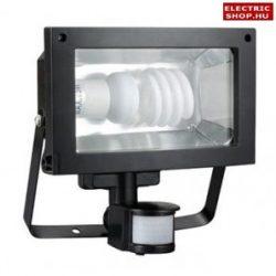 Kompakt fénycsöves fényvető mozgásérzékelős TOMI ST160A 1xE27 (energiatakarékos reflektor)
