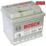 Bosch S5 12V 52Ah Jobb+ akkumulátor (0 092 S50 010) (45Ah méret)