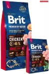 Brit Premium Large Adult 15kg kutyatáp