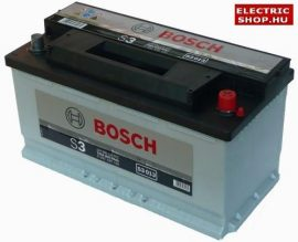 Bosch S3 12V 90Ah Jobb+ akkumulátor