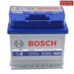 Bosch S4 12V 52Ah Jobb+ akkumulátor Raktáron (45ah méret)