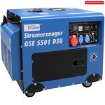 Güde 40588 Diesel Áramfejlesztő DSG 5501