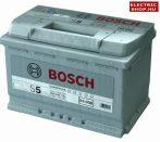 Bosch S5 Silver 12V 77Ah 780A Jobb+ akkumulátor