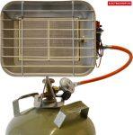 Güde 17306 Gázégő GHS 4200 PIEZO - pb palackra szerelhető fűtőtest