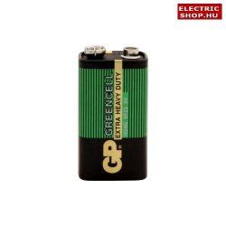 GP Greencell 9V elem 6F22 féltartós